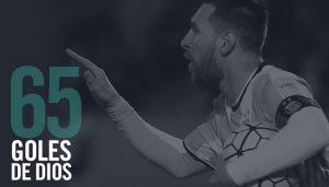El capitán y máximo artillero de la historia de la Selección alcanzó a los 65 tantos con Argentina. Habla Messi y Armani