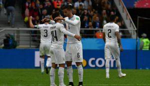 ¡Mirá los goles del Mundial! Ganó Uruguay en el final