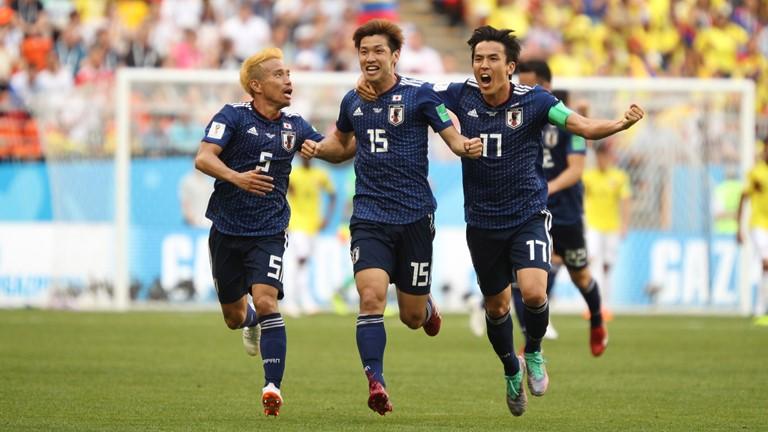 Rusia 2018: Japón sorprendió a Colombia y le ganó 2 a 1
