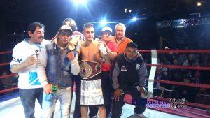 En V. Constitución fue un éxito la velada del promotor Dr. Rogelio Estrada. Santillán nuevo campeón OMB Latino Super Pluma