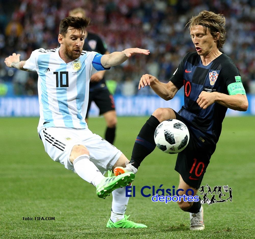 Argentina perdió con Croacia 3-0 en Nizhny Novgorod