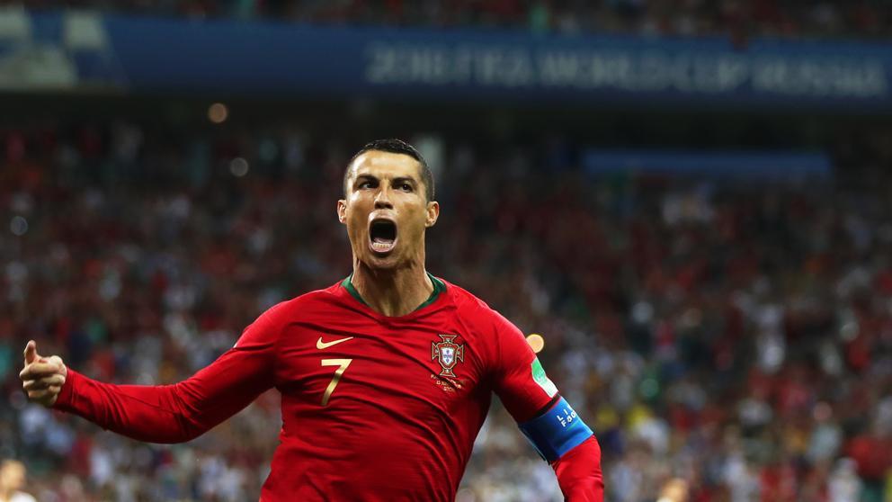 Cristiano Ronaldo consigue un hacktrik en el Mundial 2018