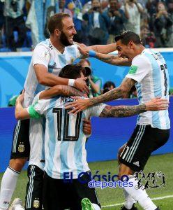 ¡Vamos que se puede! Jugando así nos hace ilusionar el combinado argentino
