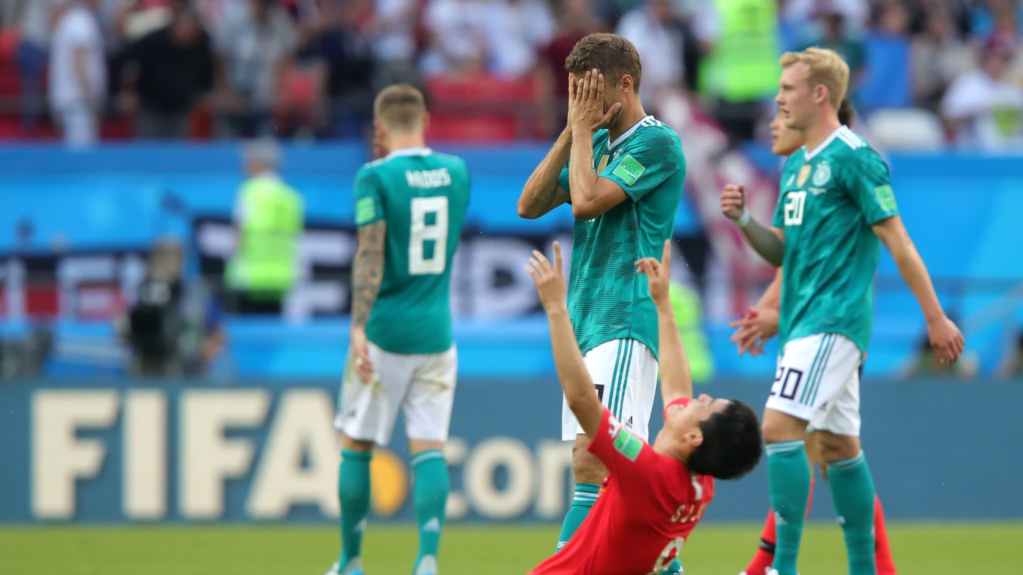Mirá la histórica derrota de Alemania y su eliminación del Mundial