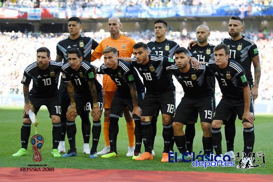 Argentina no pudo con Islandia en el debut de Rusia 2018.