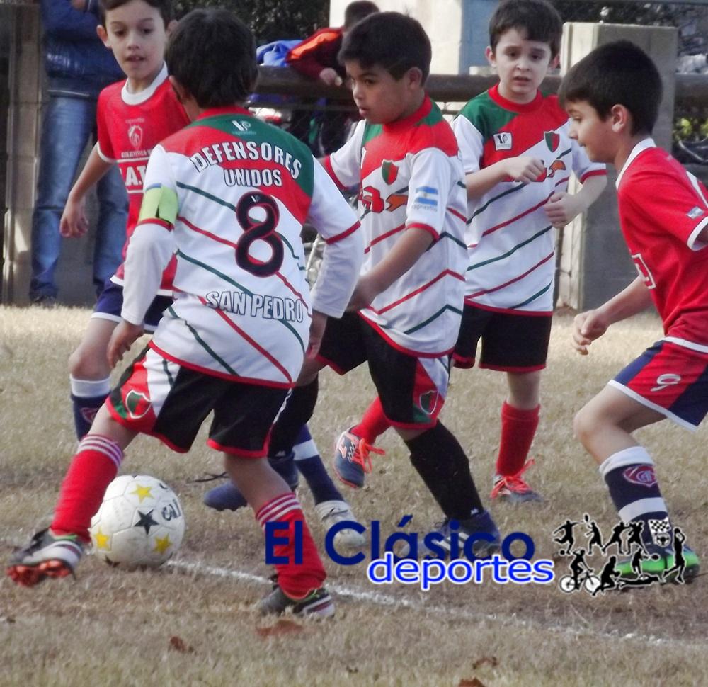 Baby Fútbol: Sólo en cuatro canchas hubo actividad. El domingo el resto