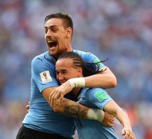 Uruguay derrotó a Rusia y terminó primero en el grupo ¡Vamos la celeste!