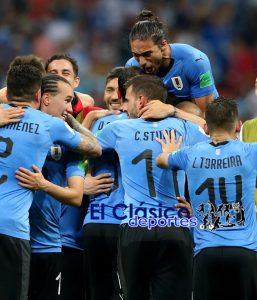 Uruguay a cuartos de final ¡Con la garra charrúa!