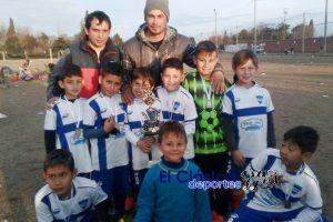 Torneo Aniversario de Def. de Belgrano de Villa Ramallo: General San Martín campeón