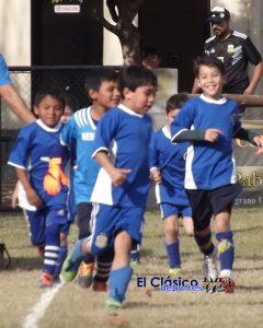 Posiciones del Baby Fútbol a cinco fechas del final