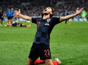 Croacia finalista del Mundial! Venció en suplementario a Inglaterra 2 a 1