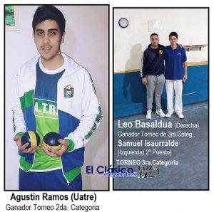 Basaldúa y Ramos ganaron el torneo de la ABSP