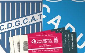 Defensores Unidos de Zárate ante Godoy Cruz por Copa Argentina