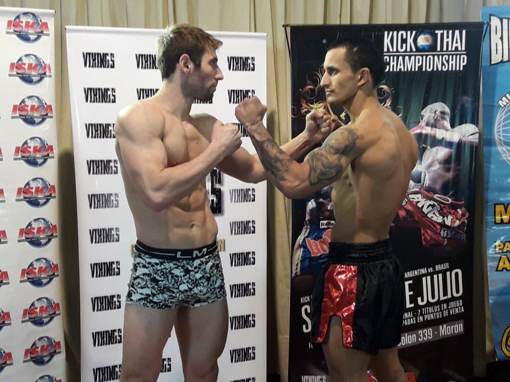 Damián Muñoz combate hoy en Morón en Muay Thai