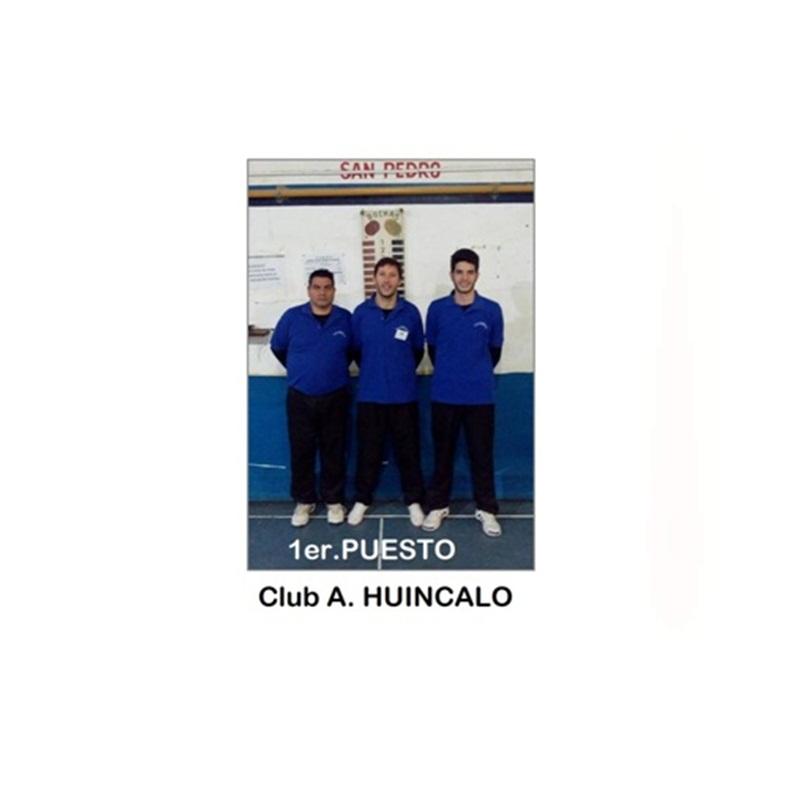 Bochas: Club Huincaló ganó el selectivo de primera