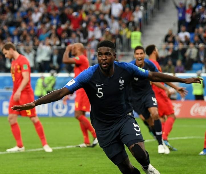 Francia el primer finalista de Rusia 2018, luego de superar a Bélgica
