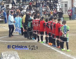 Baby Fútbol: Las selecciones jugaron en San Nicolás. Mirá el debut!