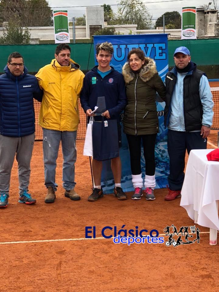 En este momento estás viendo Ignacio Novo subcampeón en Torneo Profesional en Córdoba