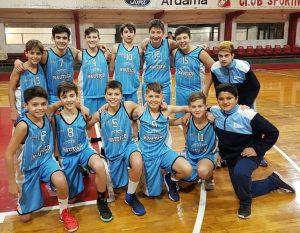 Basquet U13 de Náutico clasificó al regional