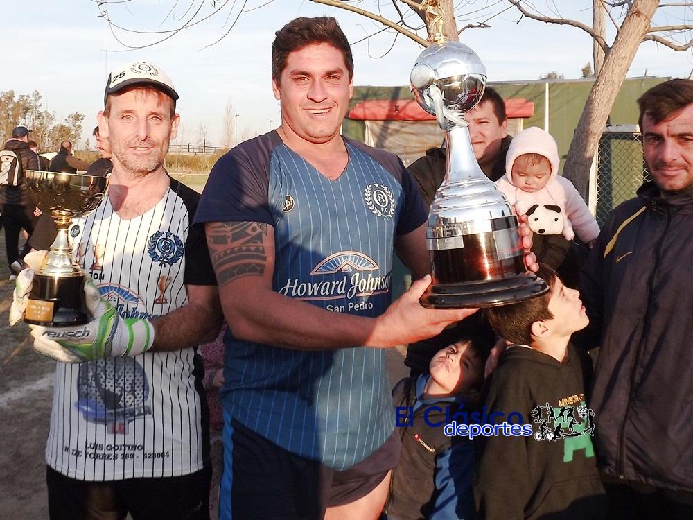 Fútbol Interno Club Pescadores finalizó el Torneo de Invierno