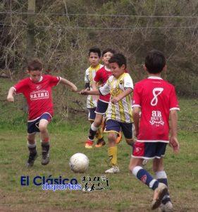 Baby Fútbol: Comenzó el clausura con algunas suspensiones por lluvia