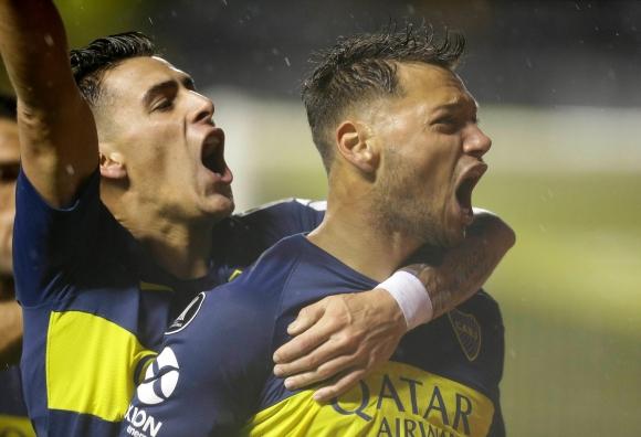 Boca le ganó 2 a 0 a Libertad en el partido de ida de Copa Libertadores. Reviví los goles!