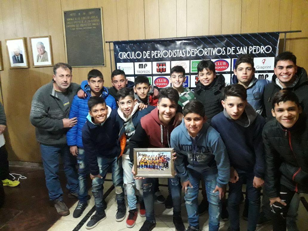 El Círculo de Periodistas Deportivos de San Pedro realizó nuevos reconocimientos