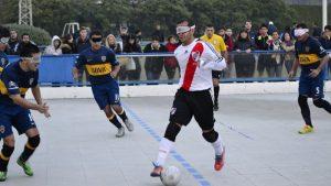 Fútbol para ciegos: River se quedó con el clásico