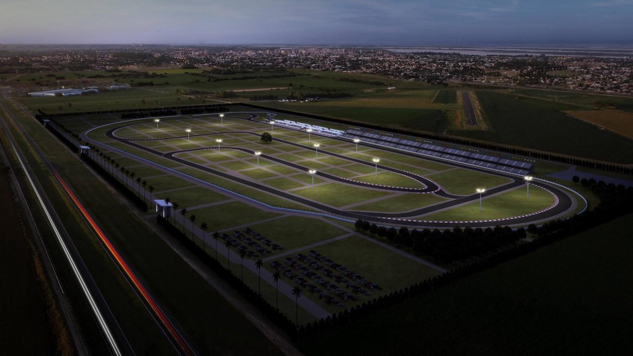 El Autódromo de San Nicolás en la etapa final
