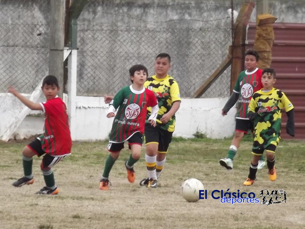 Así se juega la segunda fecha del torneo de baby fútbol