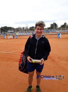 Tenis: Ignacio Novo disputó ronda final en Río Cuarto