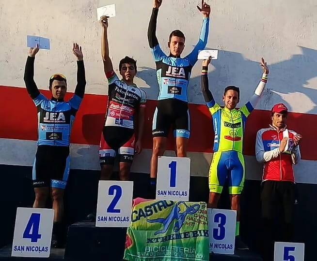 El juvenil de Salto Lukas Dundic esta vez ganó en San Nicolás.