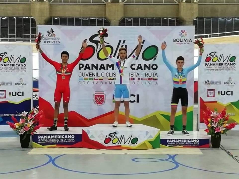 Panamericano de Ciclismo: Primera medalla para el equipo argentino