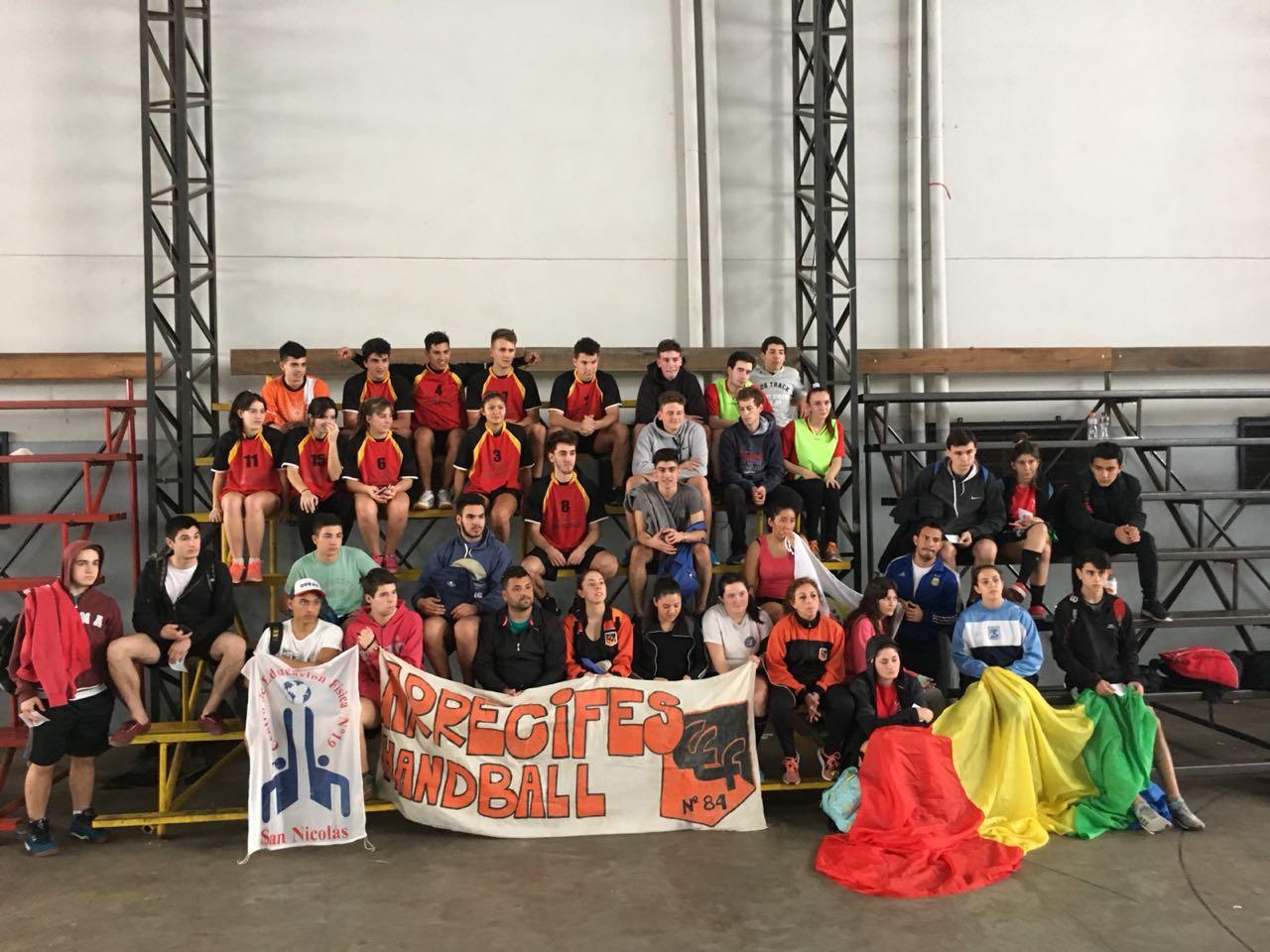 Handball: Equipo mixto del CEF clasificó a Mar del Plata