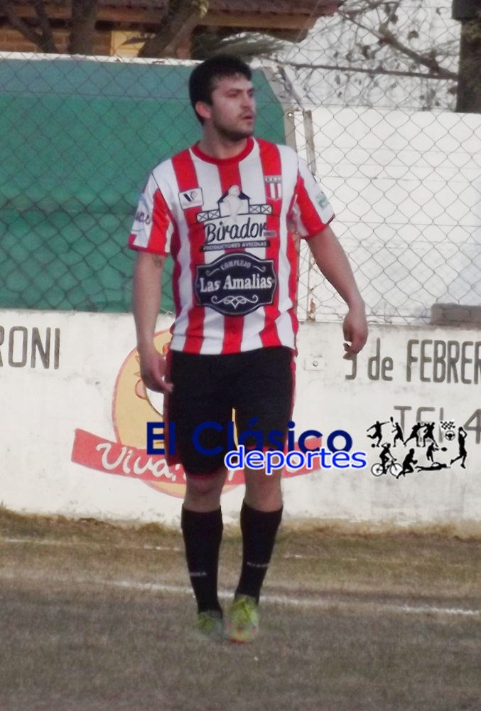 Fútbol local: Jonathan Cerruti sigue marcando diferencias