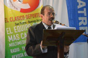 """Jorge A. Bolla recibirá distinción del Senado de la Nación  """"Pioneros del Periodismo Deportivo"""""""