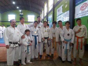 Medallas para el Karate del club Mitre