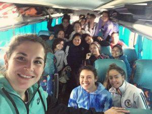 Hockey AHO: Los Andes jugó en Chacabuco y llegó a la punta en quinta y sexta división