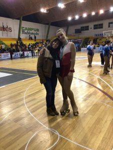 Serena Muñoz Medalla de Plata en Uruguay