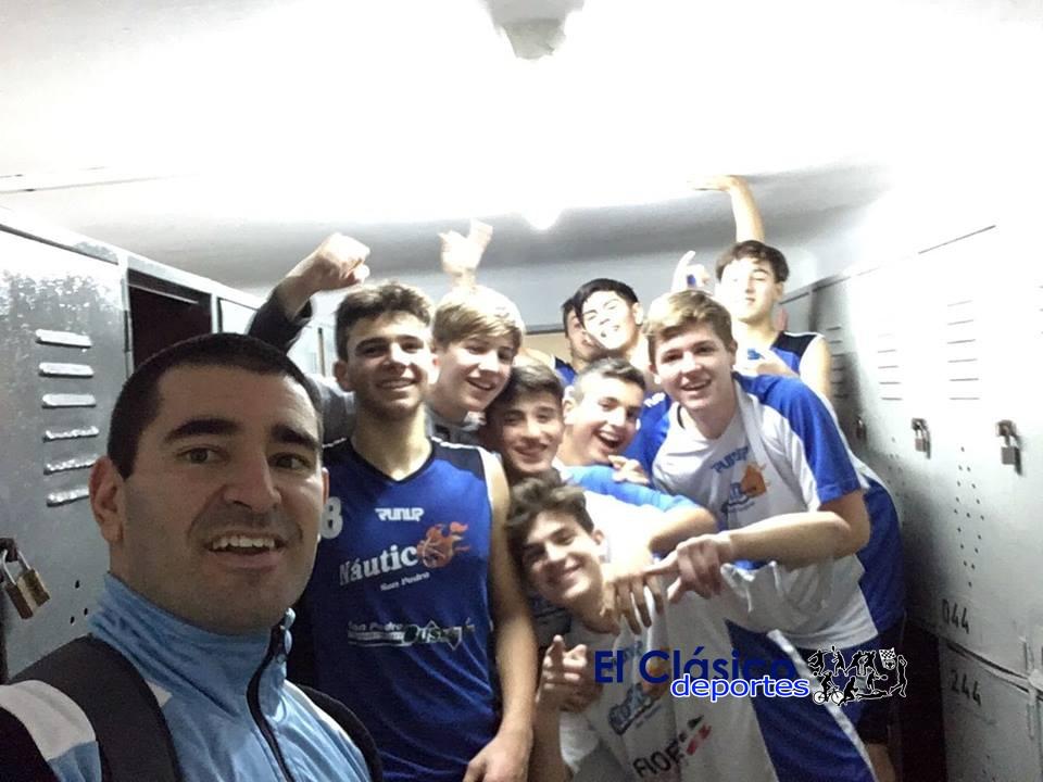 U15 de Náutico sigue de racha ganadora