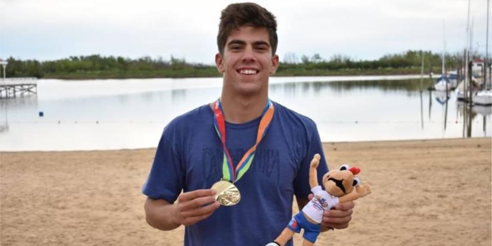 Valentín Rossi clasificó a los Juegos de la Juventud