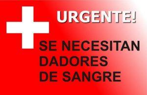Llamado solidario: Se necesita sangre 0-