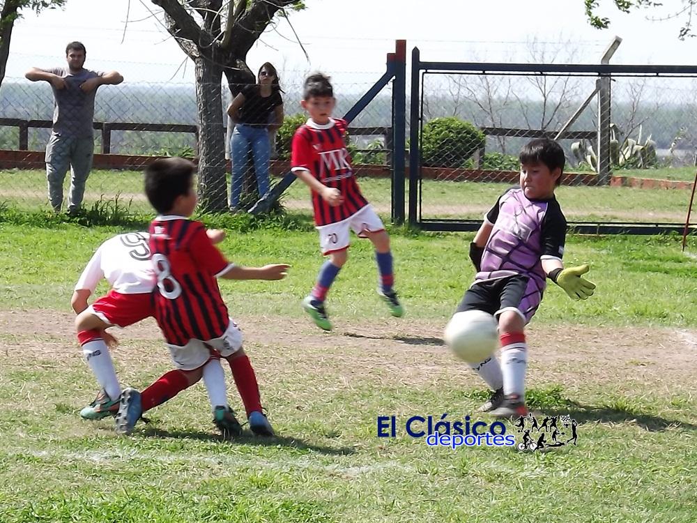 Baby Fútbol: Rivadavia el único que ganó en todas las categorías