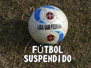 Fútbol local: Por segundo domingo consecutivo no habrá actividad