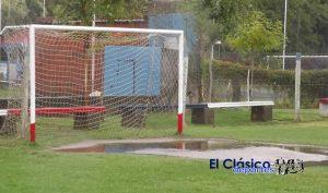 La lluvia obligó a suspender actividades programadas para el sábado