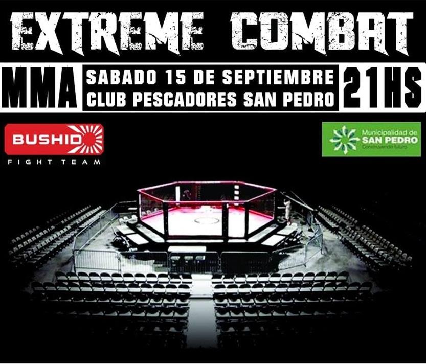 MMA en Pescadores el sábado 15
