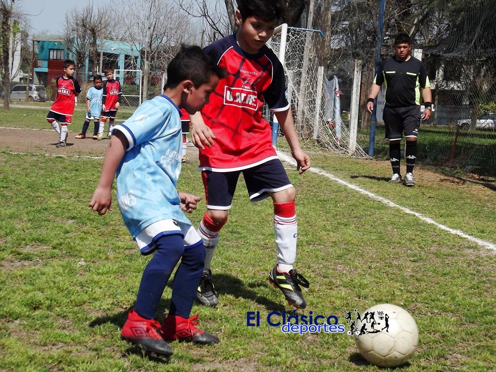 El baby fútbol disputó la cuarta fecha del Clausura
