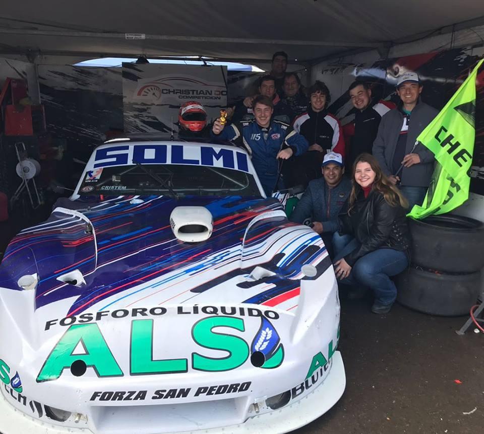 Solmi terminó quinto en Concepción del Uruguay