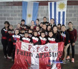 Patín Paraná fue segundo en Copa Internacional llevada a cabo en CABA