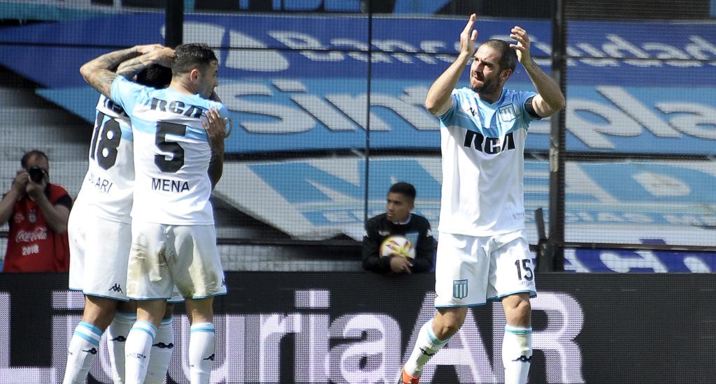 Superliga Argentina: Racing llegó a la punta luego de superar a Rosario Central. Triunfo de Boca
